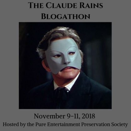 The Claude Rains Blogathon